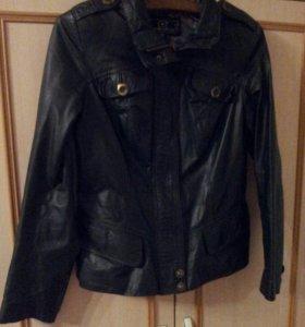 Куртка женская кожаная