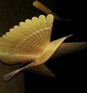 Архангельская птица счастья(ручная работа)