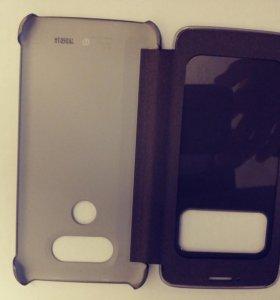 Чехол-книжка LG CFV-160 для G5 (темно-серый)