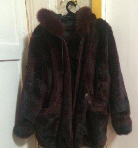 Двусторонняя Шуба-куртка