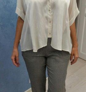 Блуза Zara m свободного кроя