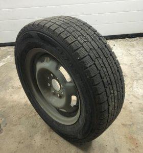 Колеса  Dunlop 175/70 R13 на штамповках
