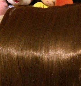 Волос на заколках 50 см