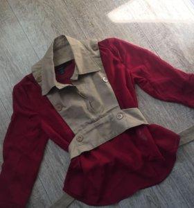 Блузка и жилетка