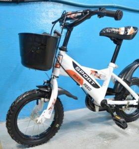 Новый детский велосипед Sport Bike