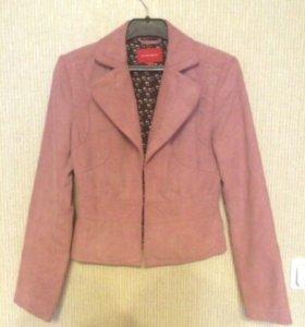 Пиджак mexx вельветовый розовый