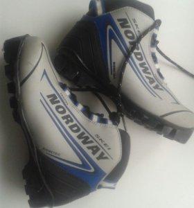 Ботинки для лыж, 33 размер