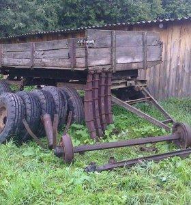 Тракторная телега двухосная г.п.3 тонны и колеса