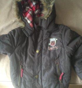 Зимняя тёплая куртка ,для мальчика
