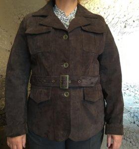 Замшевая куртка/пиджак
