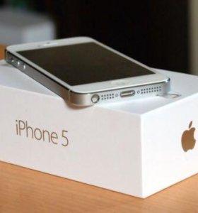 Дисплей Lcd для iPhone 5 белого цвета