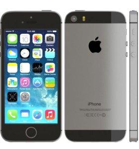 Дисплей LCD для iPhone 5 чёрный
