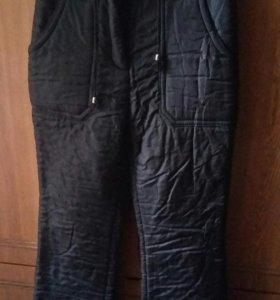 Зимние балонивые брюки