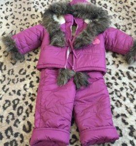 Зимний комплект (куртка+штаны)