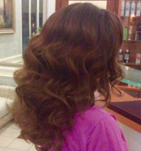 Стрижки окрашивание прически наращивание волос