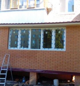 Балконы, лоджии с ноля под ключ. каркасные дома