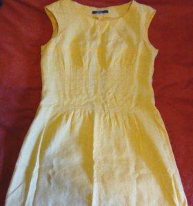 Платье. Натуральный лен