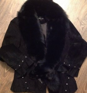 Куртка с чернобуркой р. 42-44
