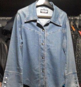Рубашка джинсвая