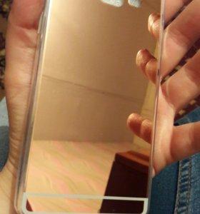 чехол на А5 2015 года(зеркало)