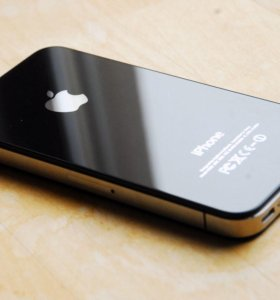 Дисплей Lcd для iPhone 4 чёрный