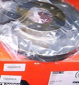Тормозные диски передние для rexton-1 Remsa новые