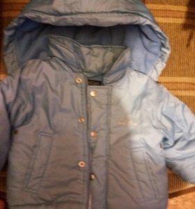 Куртка демисезонная утепленная