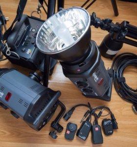 """Студийный свет """"Bowens"""" Gemini 500/500 Travel-Pak"""