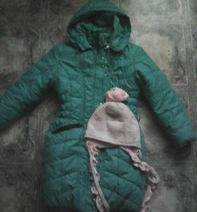 Продам зимнее пальто,рост 116-122.  9539074546
