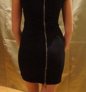 Платье стрейч с замком на спине