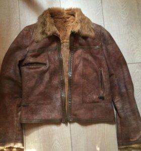 Лёгкая замшевая куртка sorce