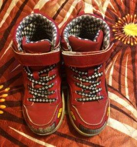 Ботинки на очень H@M 29 размера и 30 размера