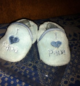 Мягкие тапочки - носочки для мальчика