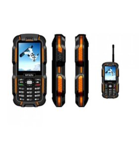 телефон Ginzzu R6 Dual черный