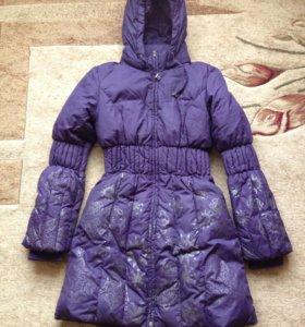 Пальто зимнее 10-12 лет