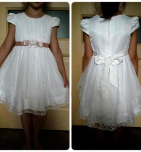 Платье нарядное на рост 116 см.