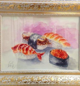 "Картина ""Sushi"""
