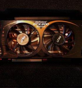 Видеокарта GTX275 896Мб DDR3 448bit