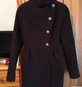 Пальто осень шерсть