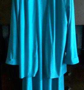 Платье с пиджаком р. 50-52