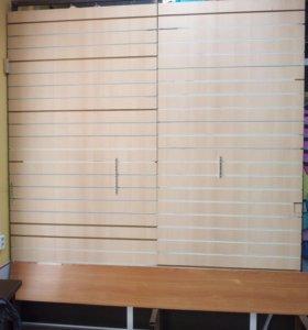 Стеновые панели с вкладышами