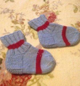 Носочки шерстяные детские