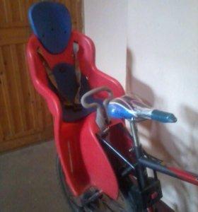 Велокресло для детей.