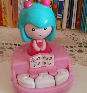 """Развивающая игрушка """"Мими и ее волшебное пианино"""""""