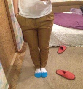Льняные брюки Mango