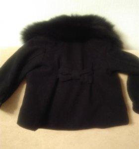 Пальто для маленькой модницы