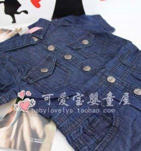 Платье из тонкой джинсы GUESS