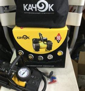 Автомобильный компрессор Качок К90led