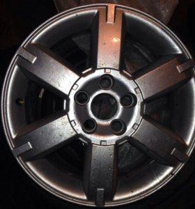 Литой диск для форд фокус Мондео