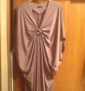 Красивое, стильное платье, р54-56